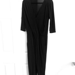 Black Ankle Length Jumpsuit